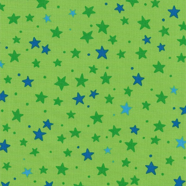 Westfalenstoffe Junge Linie kbA Sterne grün