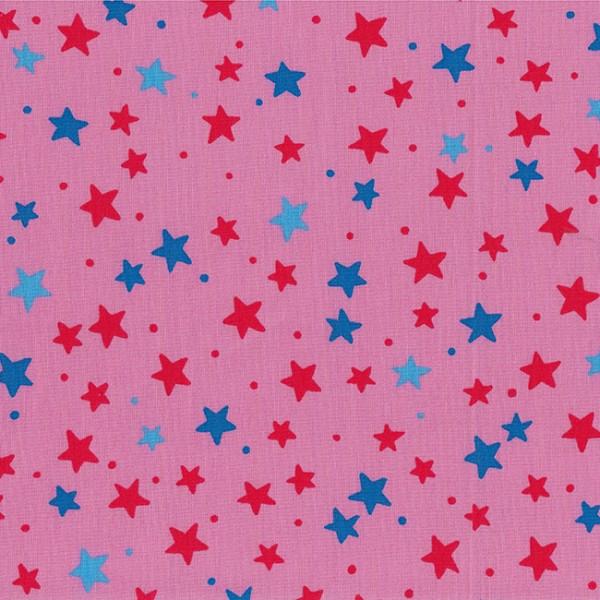 Rosa mit Sternen